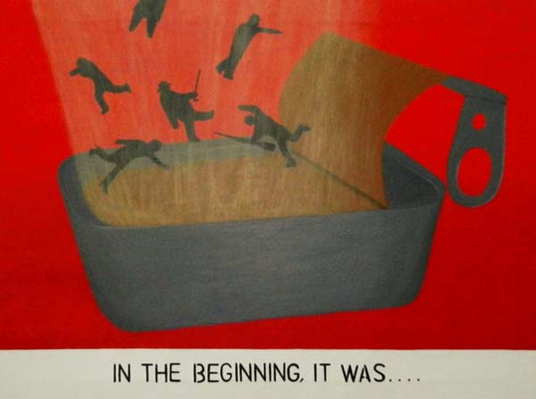 IN THE BEGINNING IT WAS. Hans Andre