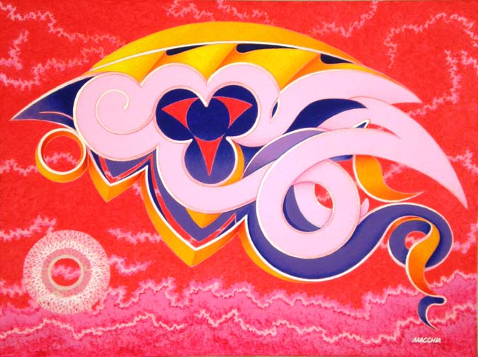 Solaris 2, acrylic on canvas. 60-x-80cm. 2012