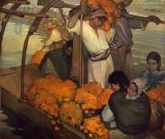 The Offering, 1913. Saturnino Herran, Mexican, 1887-1918. Oil on Canvas. 183x210 cm. Museo Nacional de Arte, INBA Mexico City. © 2016 Philadelphia Museum of Art