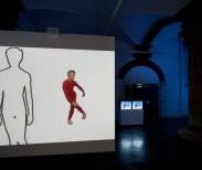 Charles Atlas, MC9, 2012, Nine-channel synchronized video installation, sound, Duration: 18:00 minutes Installation view, De Hallen, Haarlem, 2012
