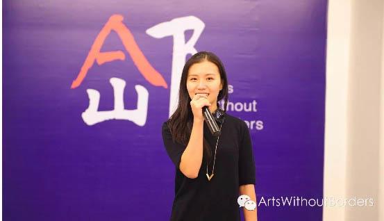 Xiaoyun Helen Zhang, curator on site