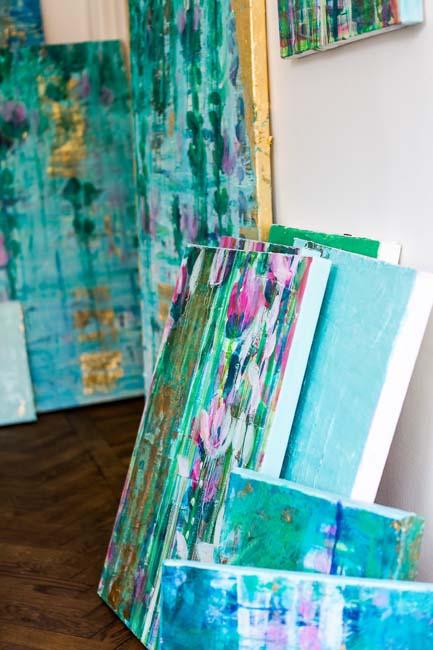 Agneta Livijn, Artist Studio.