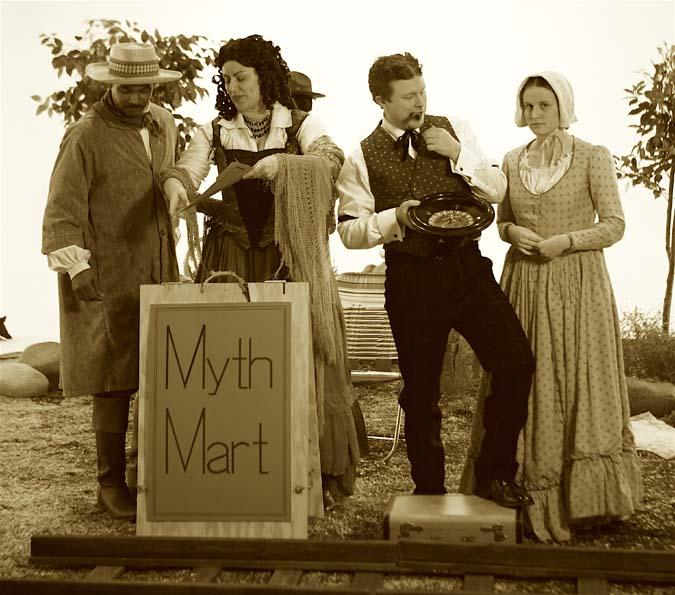 Scene 1: Photo Still, RUSH (Myth Mart)
